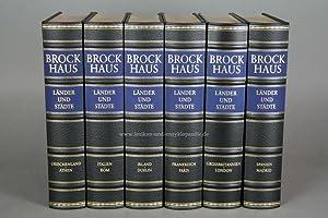 Brockhaus Die Bibliothek, Länder und Städte, 6 Bände (Exklusiv) | neuwertig