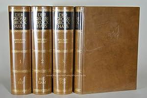 Der Große Brockhaus 18. Auflage, 20 Bände (Karten, Ergänzungen, Wahrig) Ganzleder &...