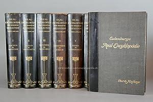 Eulenburg, Real-Encyclopädie der gesamten Heilkunde 4. Auflage, 15 Bände, 1907-1914: ...