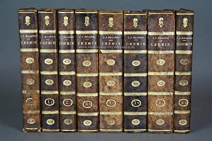 Berzelius, Lehrbuch der Chemie, 4 Bände (komplett), 1825-1831, Kupfer-Tafeln: Berzelius, Joens...