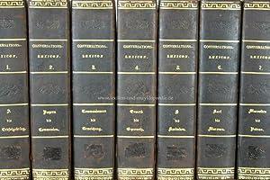 Manz, Allgemeine Realencyclopädie oder Conversationslexicon Erstausgabe, 12 Bände, 1846: ...