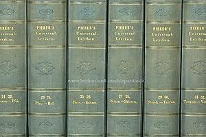 Pierers Universal-Lexikon der Gegenwart und Vergangenheit 2. Auflage, 34 Bände, 1840-1846 (I):...