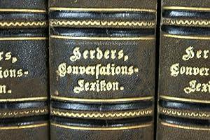 Herders Conversations-Lexikon 2. Auflage, 4 Bände (A-Z), 1876-1879 (II)