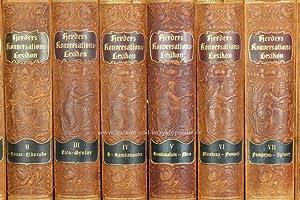 Herders Konversations-Lexikon 3. Auflage, 9 Bände, 1902-1910, Jugendstil (II)