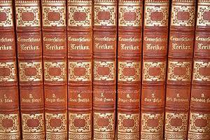 Brockhaus Conversations-Lexikon 10. Auflage, 16 Bände (incl. Unsere Zeit), 1851-1857