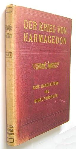 DER KRIEG VON HARMAGEDON. Eine Handleitung für Bibelforscher: Russel, Charles Taze