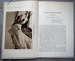 Über den Bau des Monte della Disgrazia.: Staub, Rudolf