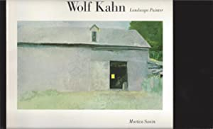 Wolf Kahn: Landscape Painter (Signed by Sawin)
