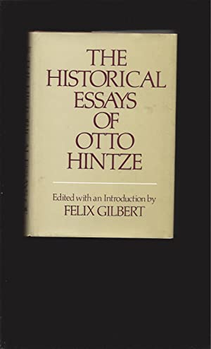 otto hintze historical essays