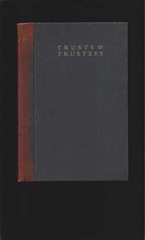Trusts & Trustees ( With President's Signed Letter)