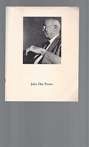 An Interview with John Dos Passos