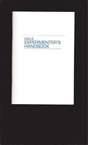 NSLS (National Synchrotron Light Source) Experimenter's Handbook 1988