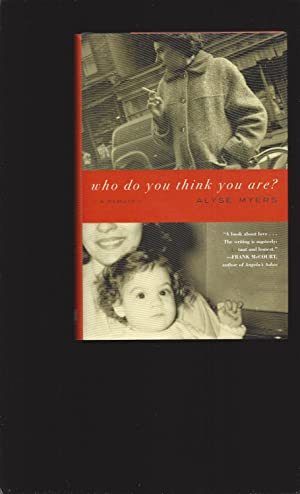Who Do You Think You Are?: A Memoir (Signed)