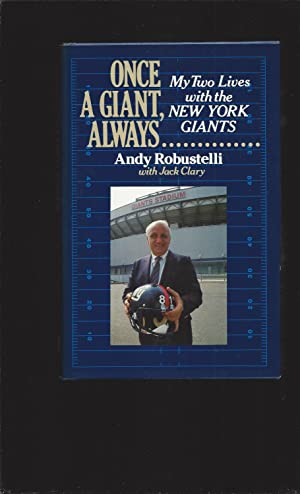Once A Giant, Always: My Two Lives with the New York Giants (Signed)