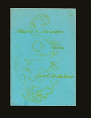 Seasons in Transition: A Book of the Poems (Signed and Inscribed to Theodore Bikel)