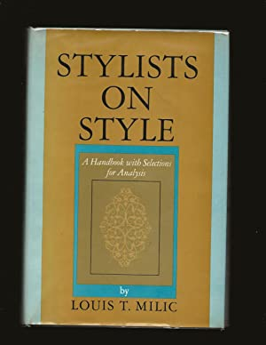 Stylists On Style: A Handbook with Selections for Analysis