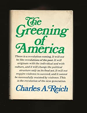 The Greening of America (Only Signed Copy)