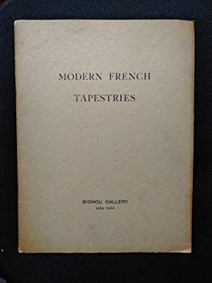 Modern French Tapestries by Braque, Raoul Dufy, Leger, Lurcat, Henri-Matisse, Picasso, Rouault. :...