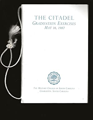 The Citadel: Graduation Exercises, May 16, 1987 (Includes Signed Letter)