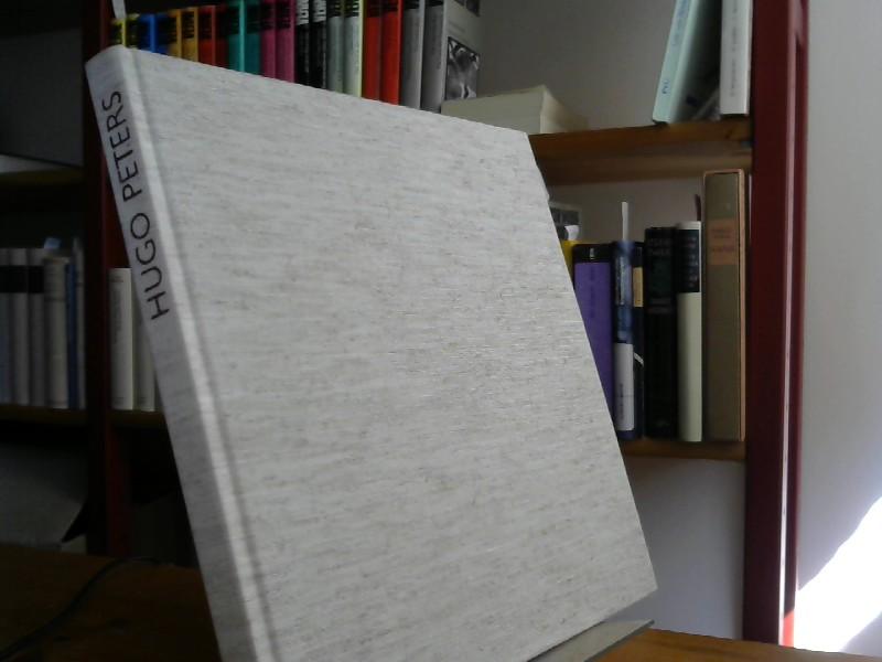 Monografie mit Werkverzeichnis 1972-1989.: Peters, Hugo: