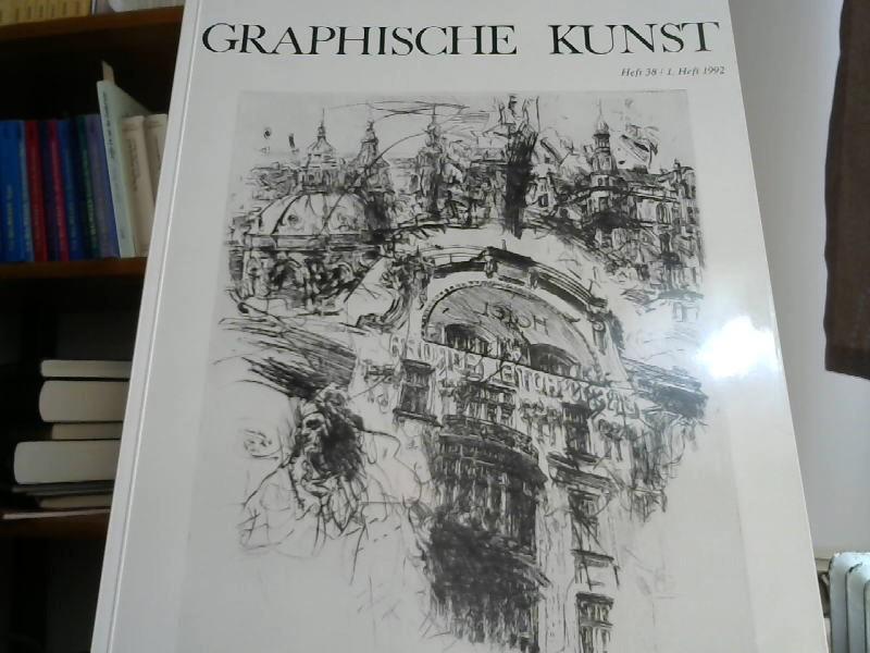 Graphische Kunst Heft 38. 1. Heft 1992: Visel, Curt (Hrsg.):