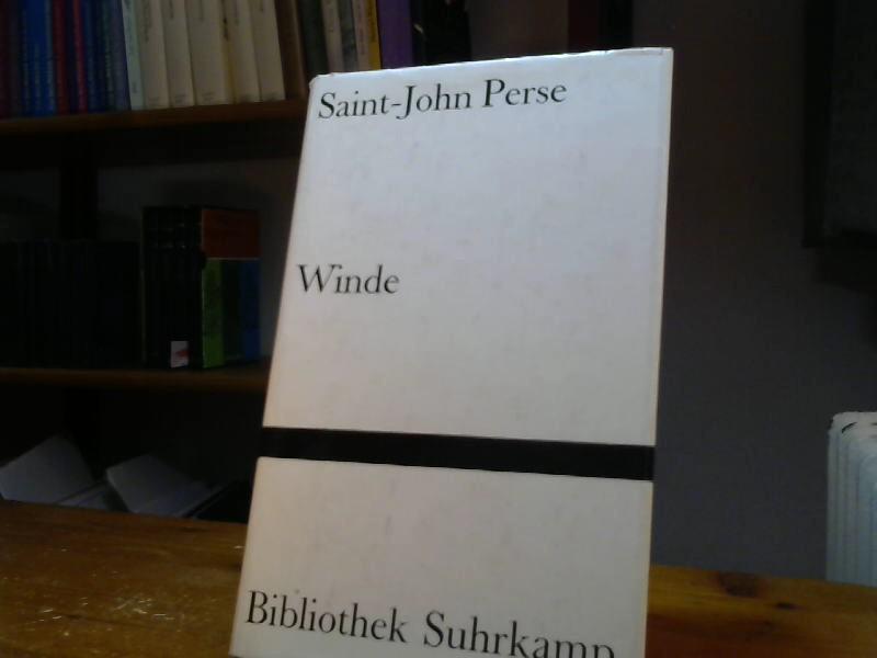 Winde. Französisch und Deutsch.: Perse, Saint-John: