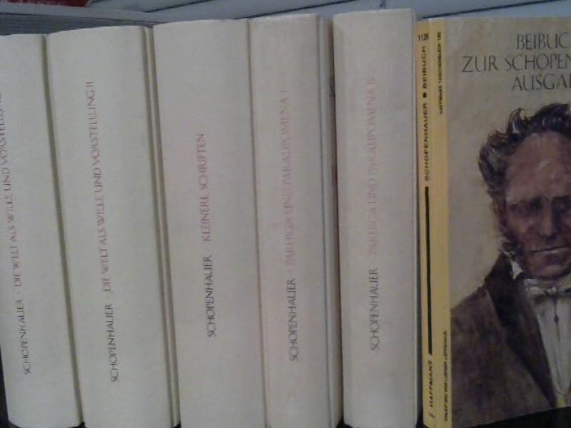 Werke in fünf Bänden. Incl. Beibuch.: Schopenhauer, Arthur: