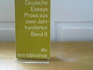 Deutsche Essays. Prosa aus 2 Jahrhunderten Band: Rohner, Ludwig: