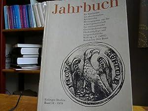Jahrbuch für Geschichte der oberdeutschen Reichsstädte. Esslinger: Otto, Borst Brun