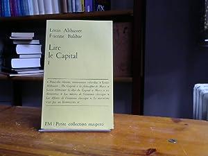 Lire le Capital II Petite collection maspero: Louis, Althusser und