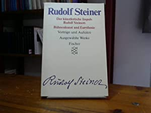 Rudolf Steiner - Ausgewählte Werke. Kassette /: Becker, Kurt E,