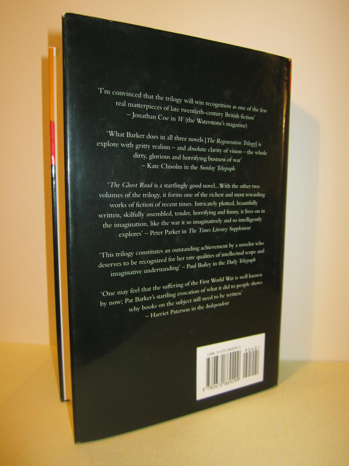 The Regeneration Trilogy - First Printing