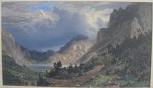 A Storm in the Rocky Mountains, Mt: After ALBERT BIERSTADT