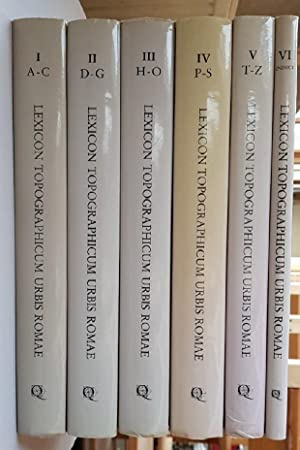 Lexicon Topographicum Urbis Romae [6 vols-set, A-Z+indici, =complete (but without supplements].