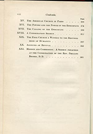 Waymarks 1870-1891 Being Discourses, With Some Account of their Occasions: Henry C. Potter