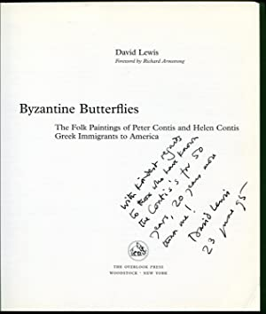 Byzantine Butterflies : The Folk Paintings of Peter Contis and Helen Contis; Greek Immigrants to ...