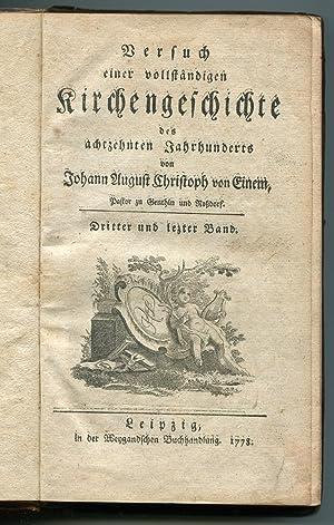Mosheims History of Churchs: Johann Christoph Von Einem