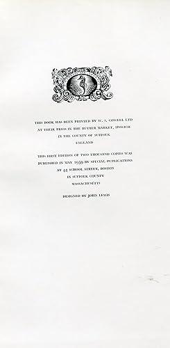 John and Thomas seymour Cabinetmakers in Boston 1794 to 1816: Stoneman, Vernon C.