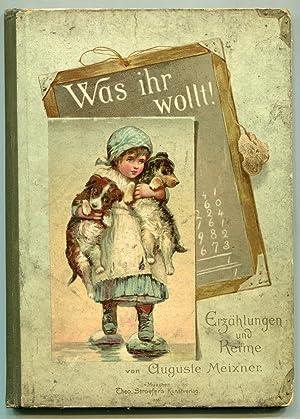 Was ihr Wollt! and Im Zwielicht: Meixner, Auguste