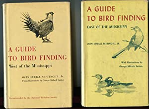 A Guide to Bird Finding East of the Mississippi and A Guide to Bird Finding west of the Mississippi