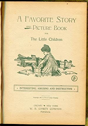 Jolly Little Playmates, A Favorite Story and picture Book for The Little Children