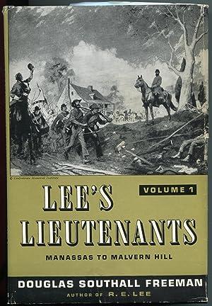 Lee's Lieutenants, Volumes 1, 2 and 3: Freeman, Douglas Southall