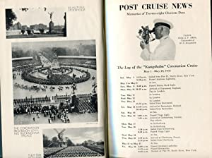 Memories of the Coronation Cruise on the Kungsholm 1937