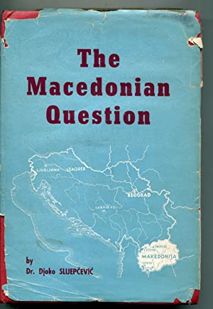 The Macedonian Question, The Struggle for Southern Serbia: Slijepcevic, Djoko