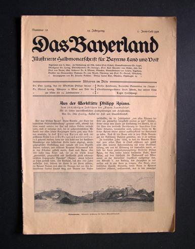 Illustrierte Halbmonatschrift Für Bayerns Land Und Volk 53502 Das Bayerland