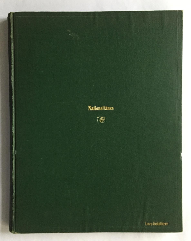 1) [10] Ungarische Tänze. Ausgabe für Klavier: Sammelbd. mit Musikdrucken.