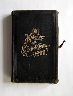 Kalender für Elektrotechniker.: Uppenborn, F. (Hg.).