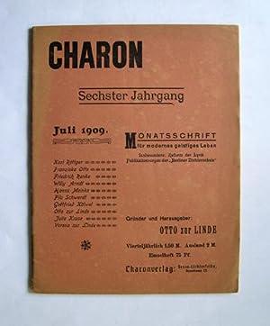 CHARON. Monatsschrift für modernes geistiges Leben. [Heft-Ausgabe: Otto zur Linde