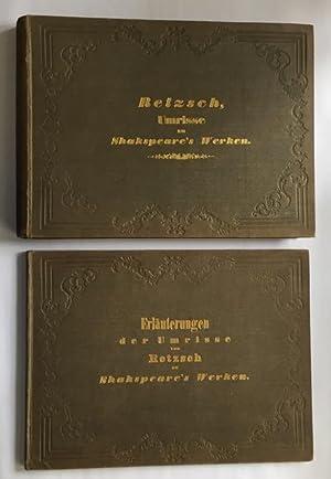 Gallerie zu Shakspeare's dramatischen Werken. In Umrissen: Retzsch, Moritz. -