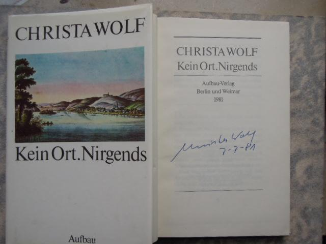 Kein Ort. Nirgends 3. Aufl.: Wolf, Christa: